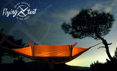 The Flying Tent - a multifunctional 4-in-one floating tent, bivy tent, hammock and poncho. What more do you need?