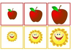Sorting by size worksheets Preschool Puzzles, Body Preschool, Preschool Centers, Preschool Worksheets, Preschool Crafts, Apple Activities, Learning Activities, Preschool Activities, Toddler Learning