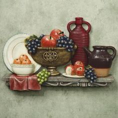 Tuscano Table Kitchen Wall Plaque