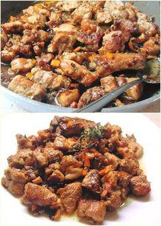 Χοιρινή τηγανιά με φλούδες πορτοκαλιού και κρεμμύδι !!! ~ ΜΑΓΕΙΡΙΚΗ ΚΑΙ ΣΥΝΤΑΓΕΣ 2 Kung Pao Chicken, Appetizers, Food And Drink, Meat, Cooking, Ethnic Recipes, Kids, Kitchen, Appetizer