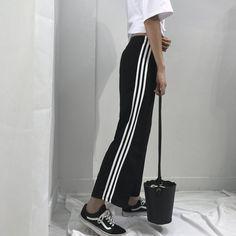 "BASIC COLORS SPORTISH SIDE LINES UNISEX GRUNGE OVERSIZED PANTS Use coupon ""ITPIN"" to get 10% OFF entire order - itgirlclothing.com   itGirl Shop #kfashion #korean #fashion #tumblr #southkorean #ulzzang #streetstyle #aesthetic #clothing #apparel #kawaii #cute #women #indie #grunge #pastel #kawaiifashion #pale #style #shop #buy #store #online #kawaiishop #freeshipping #free #shipping #worldwide #palegoth #softgrunge #softgoth #minimalism #inspiration #goals #outfit #itgirlclothing #itgirlshop…"