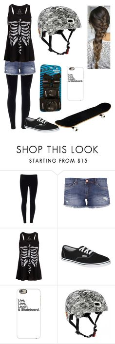 """Sk8ter Gurl"" by theonea ❤ liked on Polyvore featuring BLANKNYC, Vans, Casetify and Bullet"