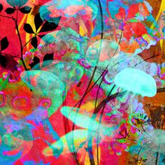 art, bright, colors, neon, psychodelic