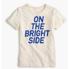 """""""On the bright side"""" T-shirt : Women gallery tees 