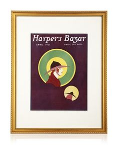 """50% OFF Original Harper\'s Bazaar Cover (Dated 1923) by Unknown, 20\"""" x 16\"""""""
