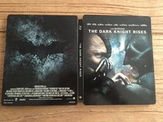 The Dark knight rises steelbook (amazone).