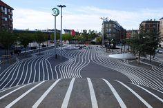 """Black Market"" Area: Superkilen Park, Copenhagen."