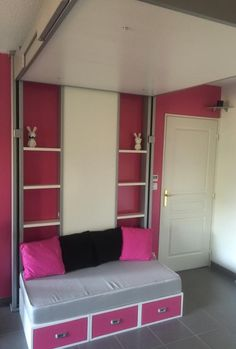 1000 id es sur le th me lit escamotable plafond sur pinterest lits escamota - Lit plafond electrique ...