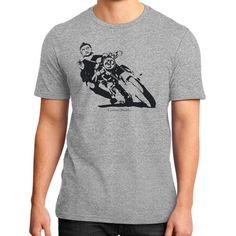 Biker Buddha District T-Shirt