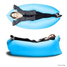 Lamzac the Original This inflatable sofa and original laybag sofa is perfect for your family beach vacation, your forest trek, your party with friends at the park and or to relax front row at the best festivals of the summer.