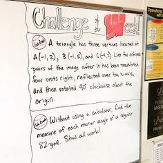 Middle School Math Man: 6 Ideas for Setting Up the Middle School Math Classroom Math Classroom Decorations, Classroom Setup, Online Math Courses, Sixth Grade Math, Math Enrichment, Math Challenge, Middle School Classroom, High School, Thing 1