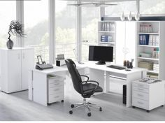 Moderná Kancelária - Tempo Kondela - Bek v bielej farbe