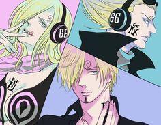 One Piece, Vinsmoke family, Reiju, Sanji, Yonji