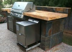 Pin By Smokintex Bbq Electric Smokers On Outdoor Kitchens Bbq Island Outdoor Kitchen Design Electric Bbq