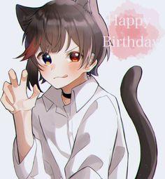 Wolf Boy Anime, Anime Boys, Cute Anime Character, Character Art, Neko Boy, Cute Anime Chibi, Handsome Anime, Boy Photos, Manga