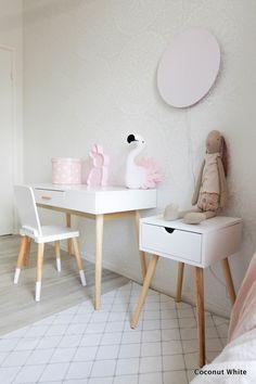 Uusi kirjoituspöytä, blogi kohta 6v ja upea arvonta! | Coconut White