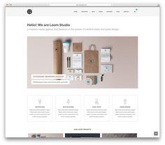 22-loom-Os-Melhores-Templates-WordPress-Bootstrap…