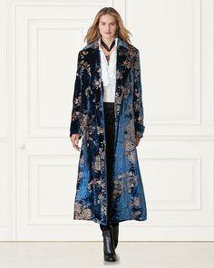 Radford Velvet Coat - Collection Apparel Coats - RalphLauren.com