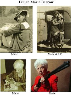 Blanche Caldwell Barrow married Buck Barrow, brother of the notorious Clyde Barrow. Bonnie And Clyde Quotes, Bonnie And Clyde Death, Bonnie Clyde, Magic Time Machine, Real Gangster, Bonnie Parker, Rms Titanic, Old West, Crime