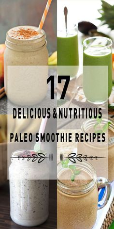 Check out 17 paleo smoothie recipes that's are easy to make and they full abide by the paleo diet rules so you do not have to worry about getting off track