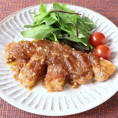 玉ねぎたっぷり和風醤油ソースの四日市トンテキ風 作り方・レシピ   料理・レシピ動画サービスのクラシル