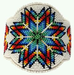 Beaded Barrette. Beautiful!