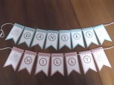 Sconebeker Stempelscheune - Stampin up Sets : Two by Two, Lovely Letters,