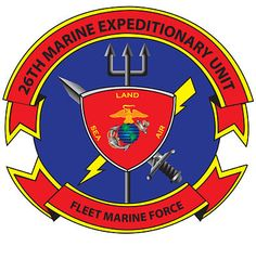 OFFICIAL 26TH MEU LOGO 120228. In November 2012, the 26th MEU self-deployed from Camp Lejeuene aboard MV-22B Osprey to theUSSWasp, which was stationed in New York Bay in the aftermath ofHurricane Sandy. There, the MEU conducted Defense Support to Civil Authorities (DSCA) operations, clearing debris, distributing food and water, and providing aid and comfort to the residents ofStaten Island, andRockaway, Queens. The Marines and Sailors would move ashore by helicopter or surface craft in…