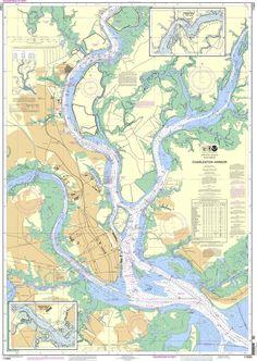 NOAA Nautical Chart 11524: Charleston Harbor