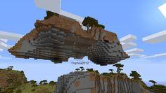 Orphea2012 Youtube et Minecraft: Minecraft   Un rocher géant que je vais habiter   ...