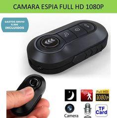 Camara espía FULL HD 1080 para grabar videos y audi de forma discreta. Camara para seguridad y vigilancia con detector de movimiento.