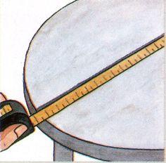 1000 images about como hacer un mantel redondo on - Hacer un mantel ...