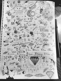 doodles simple hand easy drawings doodle drawing google notebook random notebooks pretty pages grunge creative draw cool designs visit kawaii