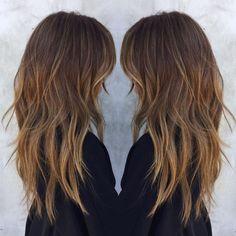 Long Shag Haircut, Haircut For Thick Hair, Long Hair Cuts, Long Layered Hair Wavy, Hair Long Layers, Long Layer Hair, Long Textured Hair, Medium Long Hair, Hair Cuts Thick Hair