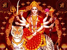 Maa Durga Wallpapers Images Pictures Photos For Dussehra 2014 ...