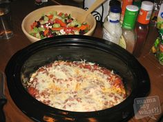 Healthy Slow Cooker Lasagna