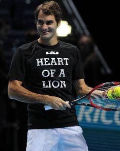 Heart of a lion ❤️ Roger Federer Family, Heart Of A Lion, Tennis Grips, European Men, Tennis Legends, Tennis Quotes, Sports Camera, Sports Medicine, Living Legends