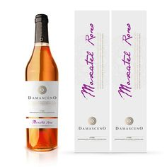 Damasceno Moscatel Roxo on Packaging of the World - Creative Package Design Gallery Creative Package, Packaging Design Inspiration, Package Design, Wine, Bottle, Gallery, Punch, Purple, Wine Pairings