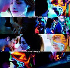 Allison and Isaac. Teen Wolf
