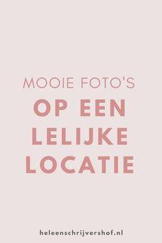 Natuurlijk zou het super fijn zijn als we allemaal elke dag de beschikking zouden hebben tot het Rijksmuseum op de achtergrond of een strand. Maar soms moeten we gewoon foto's maken in een saaie of zelfs lelijke omgeving. Gewoon, omdat het binnen een uurtje geregeld moet zijn of omdat jouw buurt niet zo fotogeniek is.