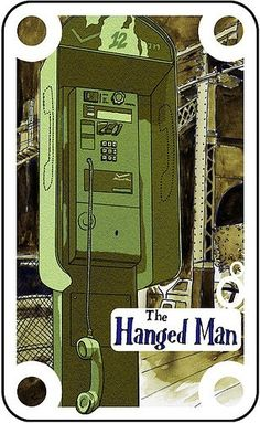 12- The Hanged Man- Endless Deck: Tarot cards by Greg Erskine