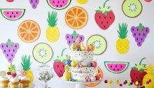 Tendência Festa Infantil - Frutas Tutti Frutti