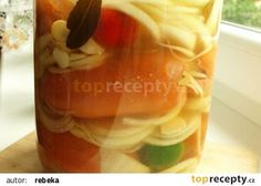 Utopenci dle mé prababičky recept - TopRecepty.cz Watermelon, Food And Drink, Pudding, Stuffed Peppers, Vegetables, Fruit, Drinks, Desserts, Drinking
