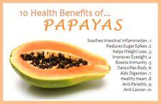 10 #Health benefits of #Papaya