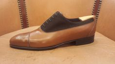 Aubercy Two Toned Balmoral Oxford  http://www.theshoesnobblog.com/