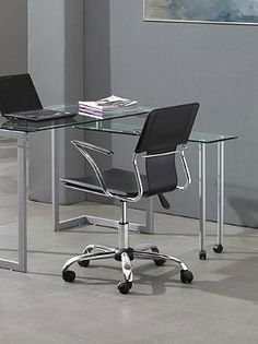 A comfortable place to sit and accomplish your most important tasks, the Trafico Office Chair features a sleek chrome-played steel frame and adjustable base for custom height.