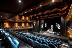 Rangatira, the main auditorium, has been designed to seat from 340 to 450 people in a variety of configurations.