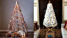 Árbol de Navidad alternativo y ecológico con infinitas posibilidades decorativas