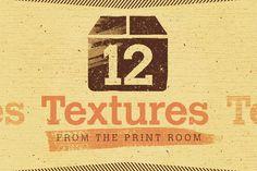 Printroom Textures by lineslineslines on Creative Market