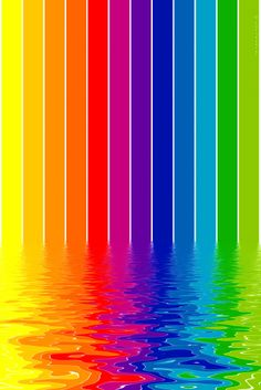 Colourful – iPhone Wallpaper Melting colours what I like most about this is the breaking down of defined lines and defined colours…this is beautiful because it signifies how how everything is fluid and the. Taste The Rainbow, Over The Rainbow, World Of Color, Color Of Life, All The Colors, Vibrant Colors, Colorful Wallpaper, Rainbow Wallpaper, Wallpaper Ideas